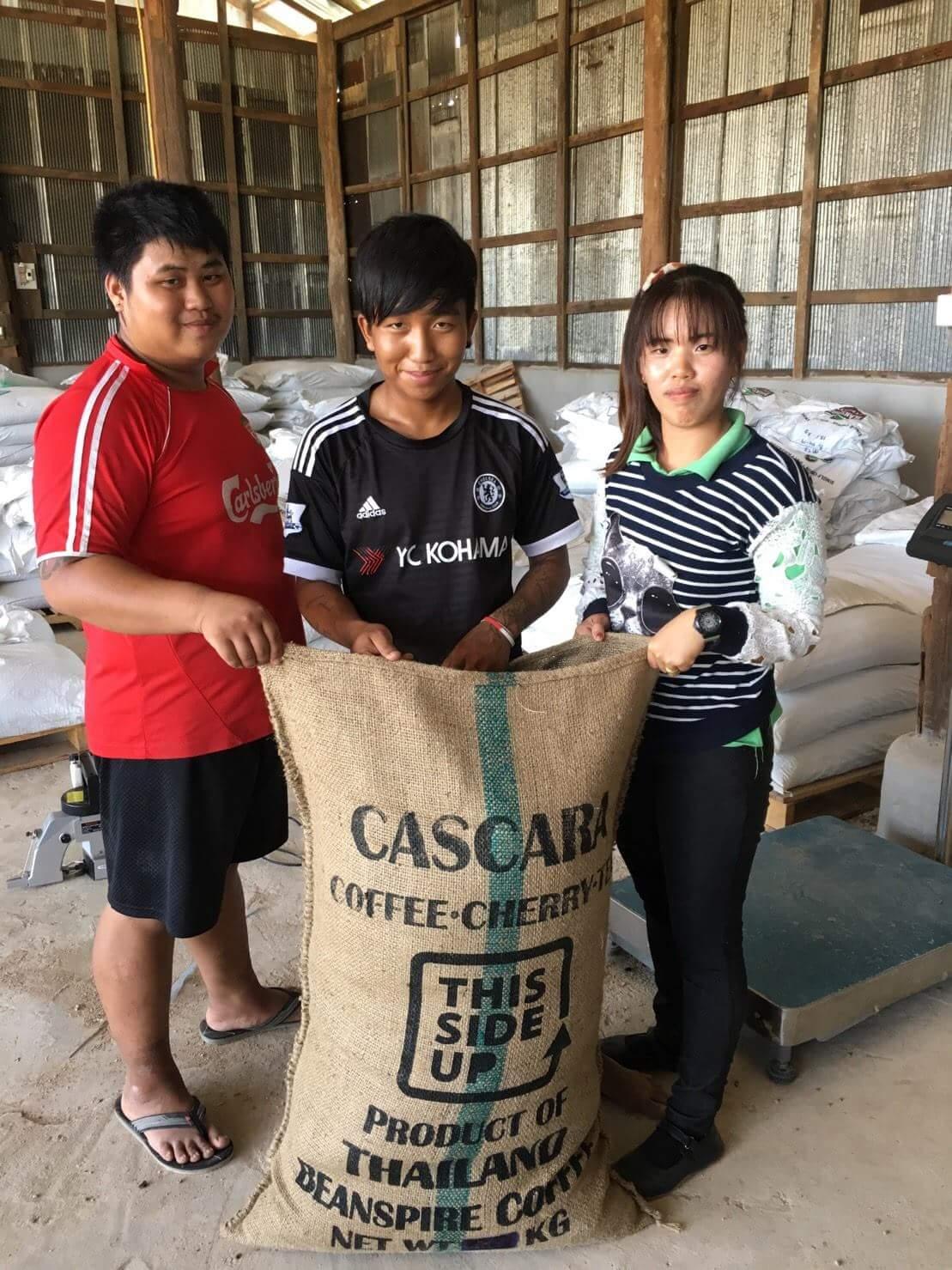 First ever cascara export!