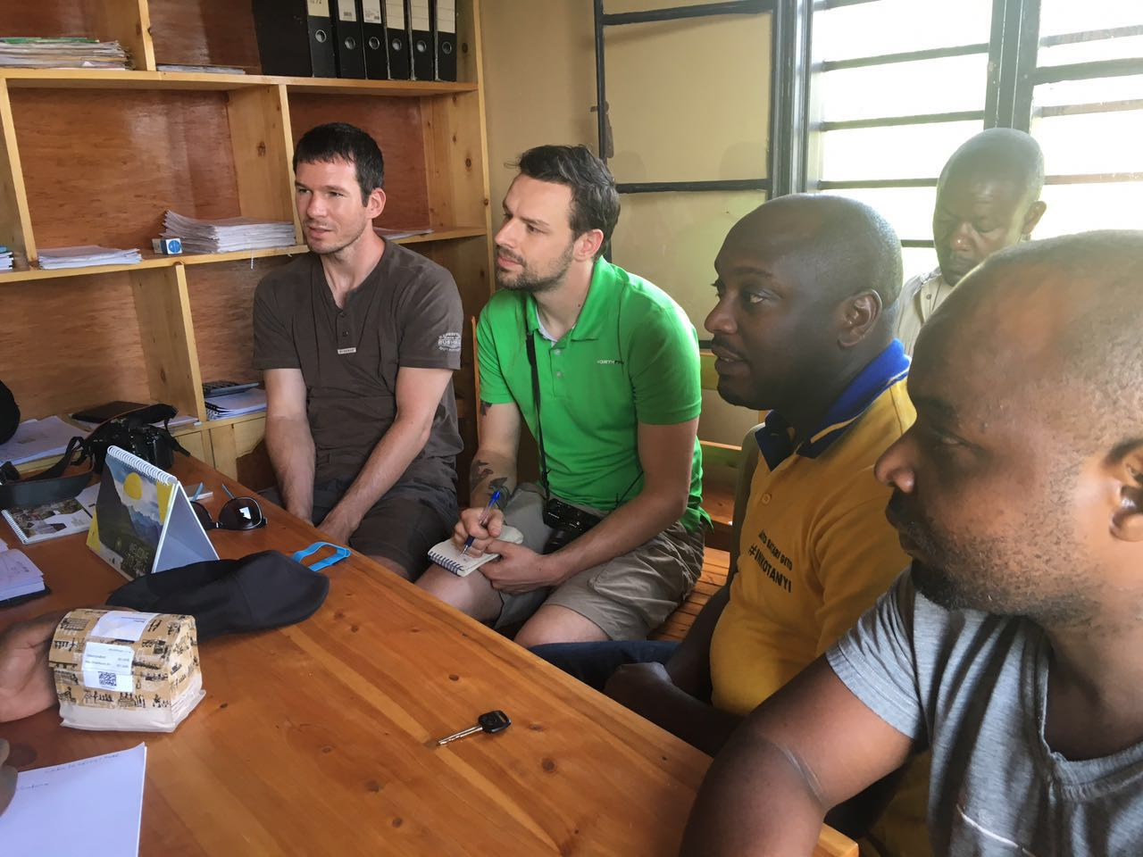 Roasters from Doubleshot visited Coko in early 2016.