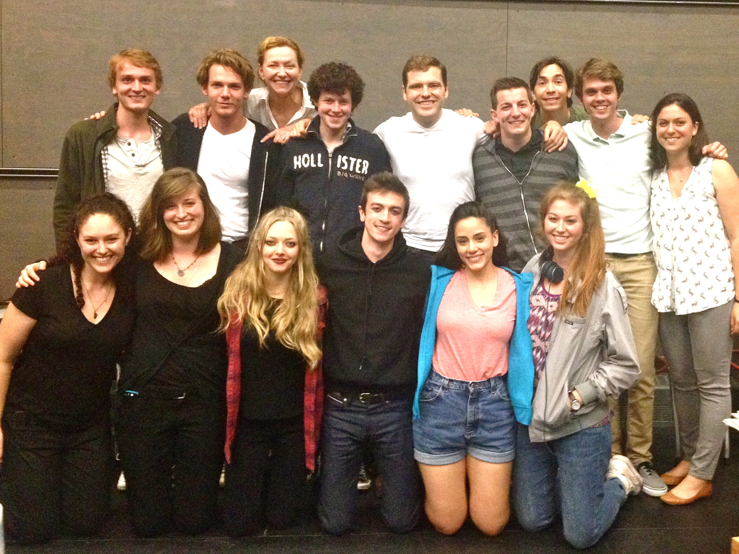 The Cast & Crew of 18 TO PARTY