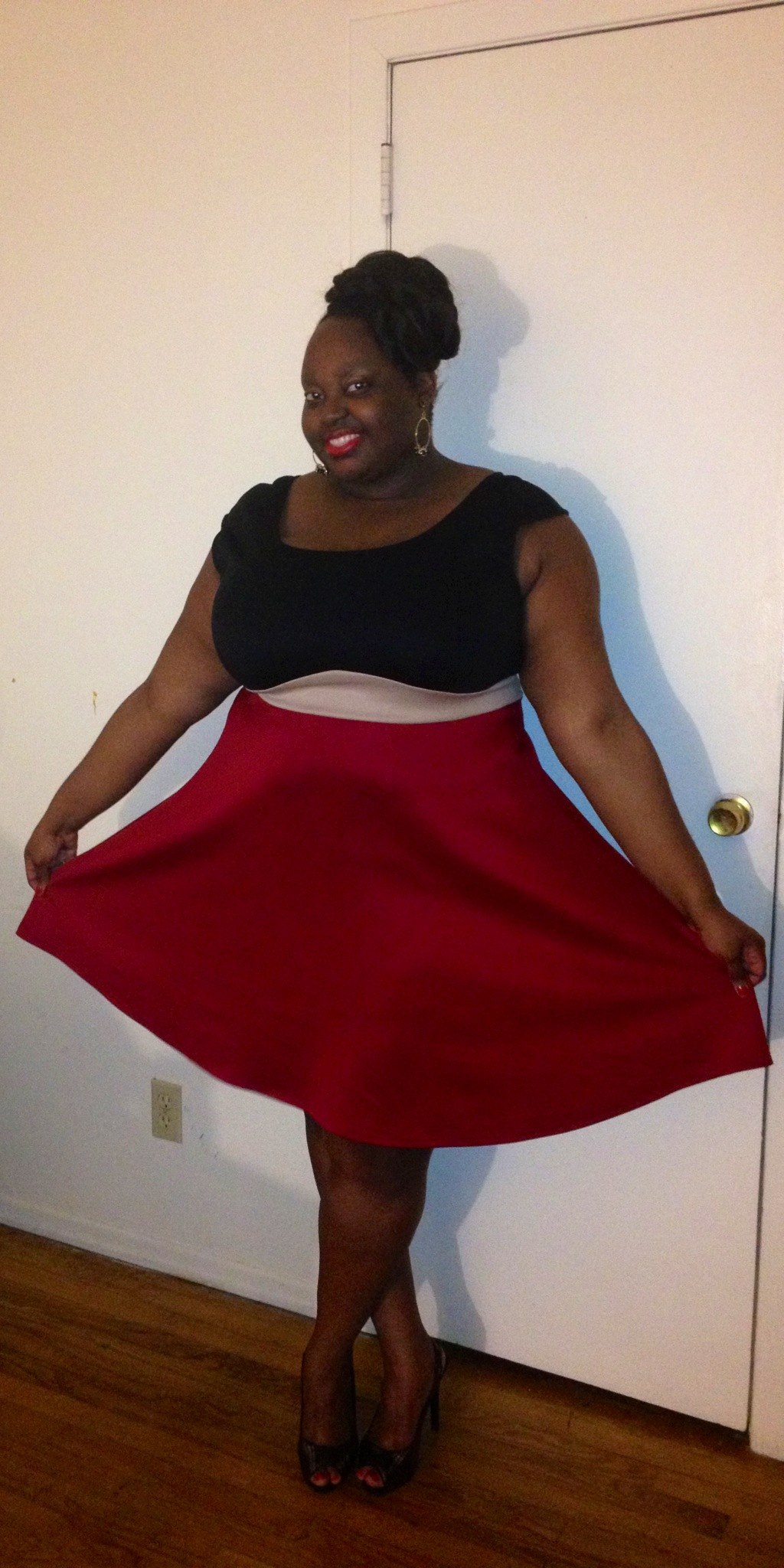 Red black and gold dress CWS -CrystalSays.jpg