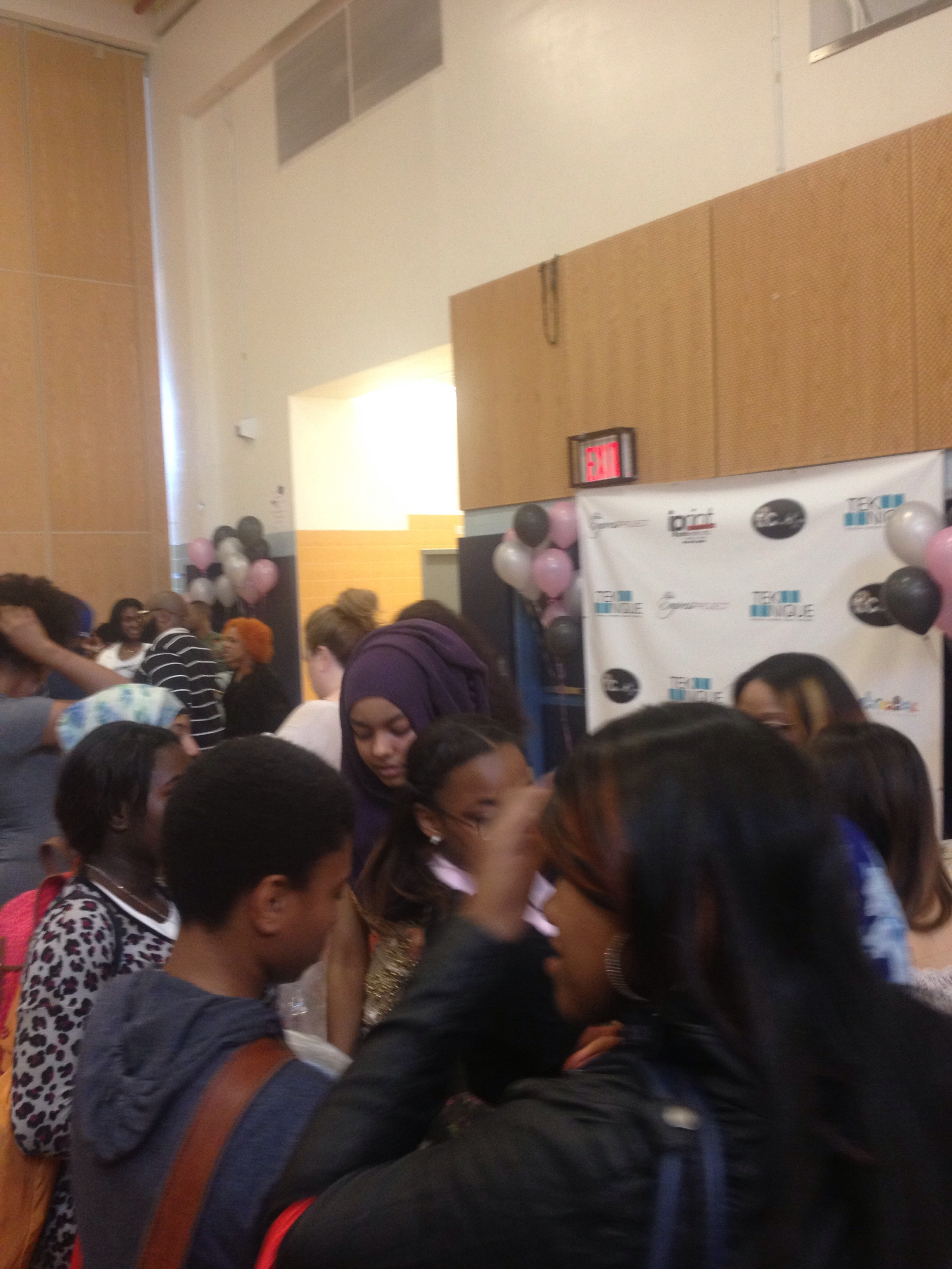 (The honorees begin picking dresses and visiting the makeover sections)