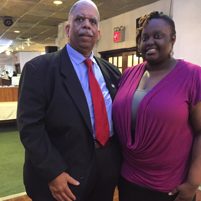 New York State Senator Leroy Comrie and me, Crystal Haynes of CrystalSays.com
