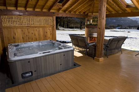 DESIGNED TO EXCEED CEC REGULATIONS  SETTING THE STANDARD   Hydropool hot tubs are ranked in the top three globally for stand-by wattage and energy efficiency, and were one of the first to be approved under the strict California Energy Commission regulations.