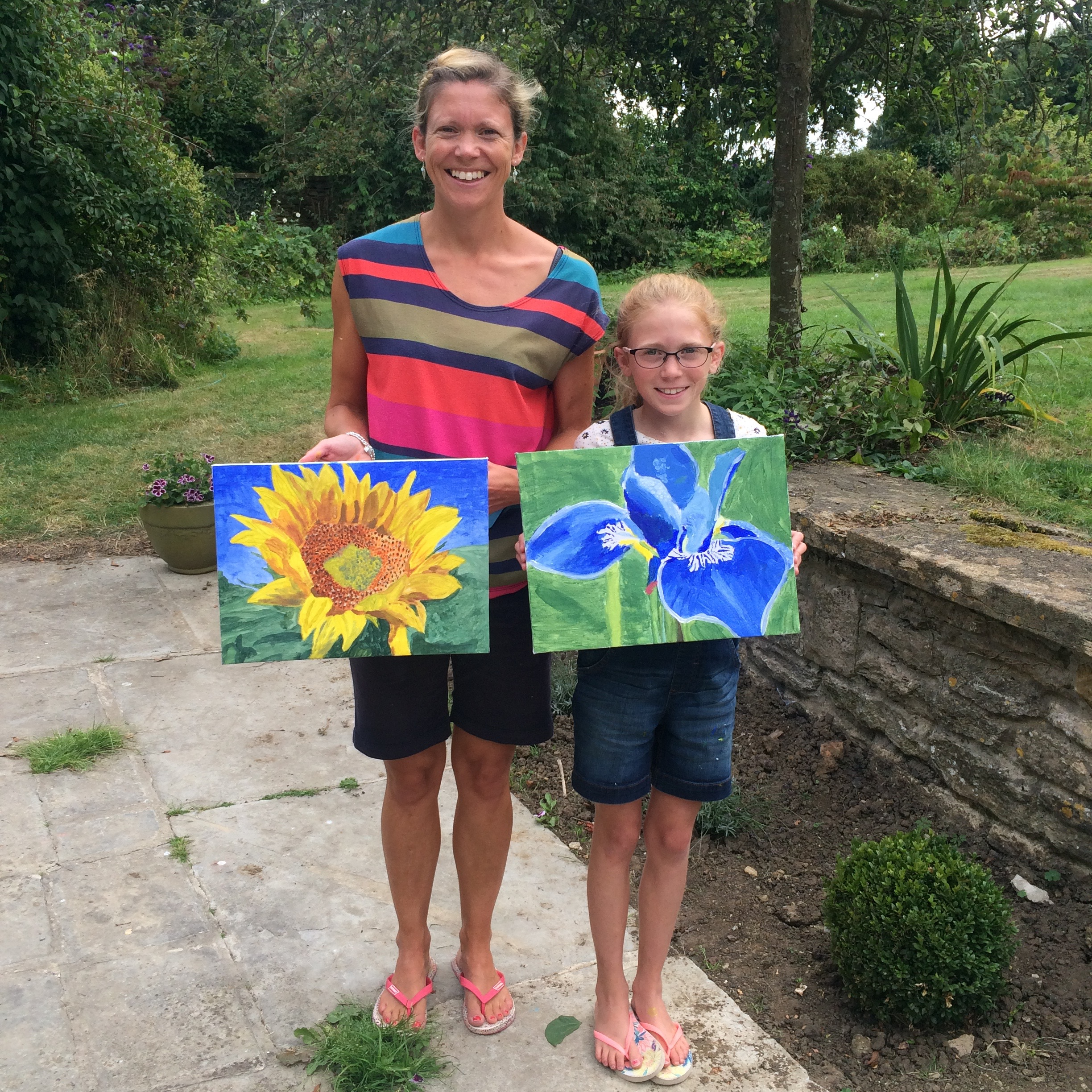 Mother's & Daughter's Painting Workshop