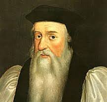 Thomas Cranmer, author of our earliest Prayer Book