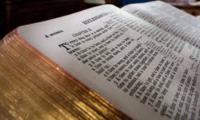 We believe the bible to be the infallible, written Word of God