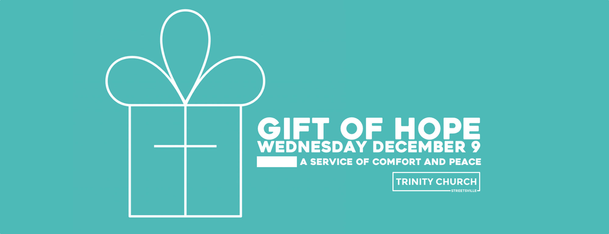 A contemplative and encouraging service for those who may struggle during the christmas season.