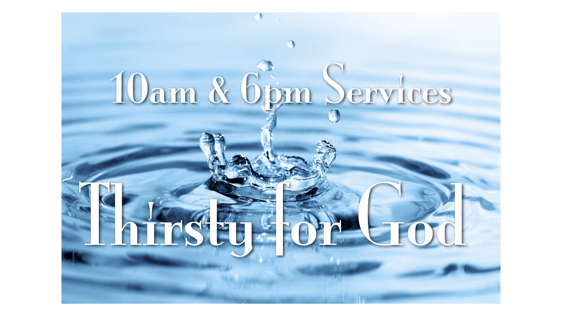Our Sunday service times are 10 am and 6 pm. everyone is welcome, come join us!