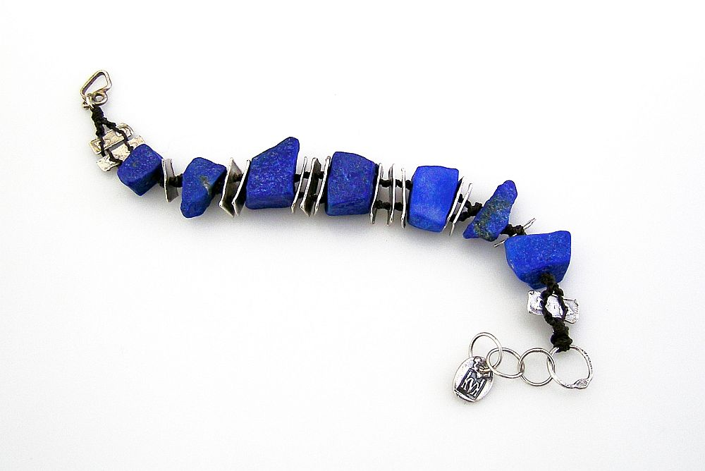 lapis cairn bracelet 1 kathy van kleeck.jpg