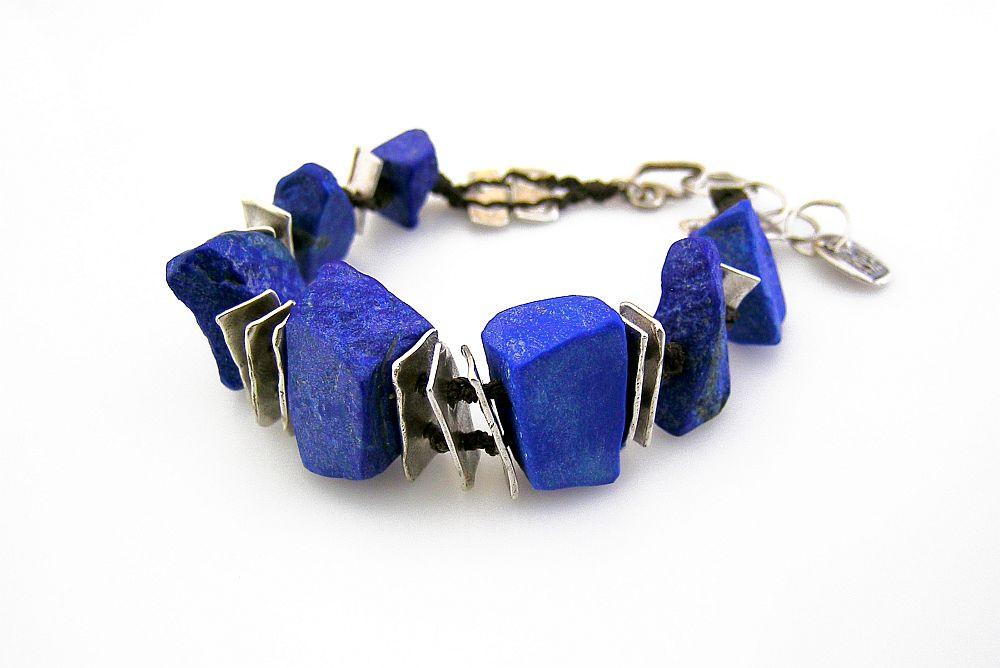 lapis cairn bracelet 2 kathy van kleeck.jpg