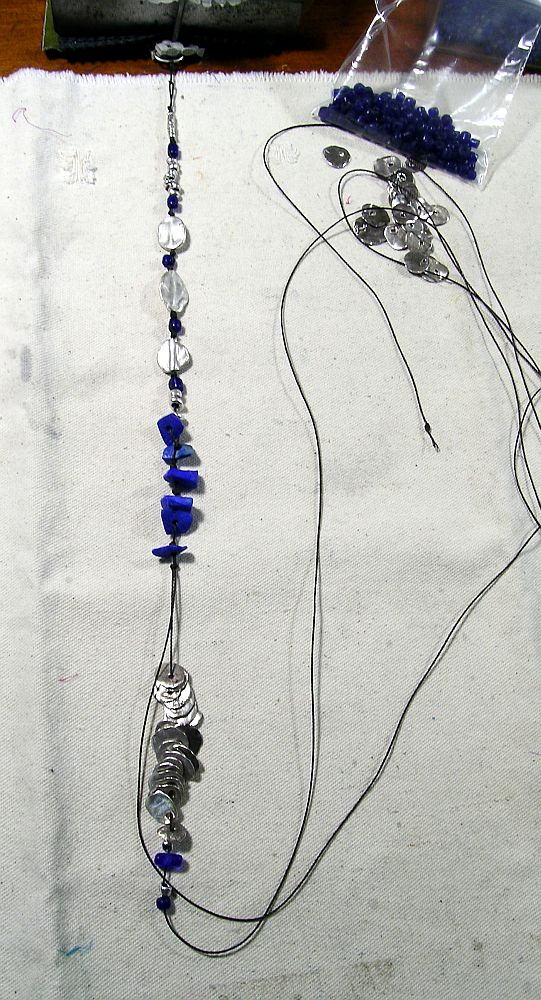 lapis jangle in progress kathy van kleeck