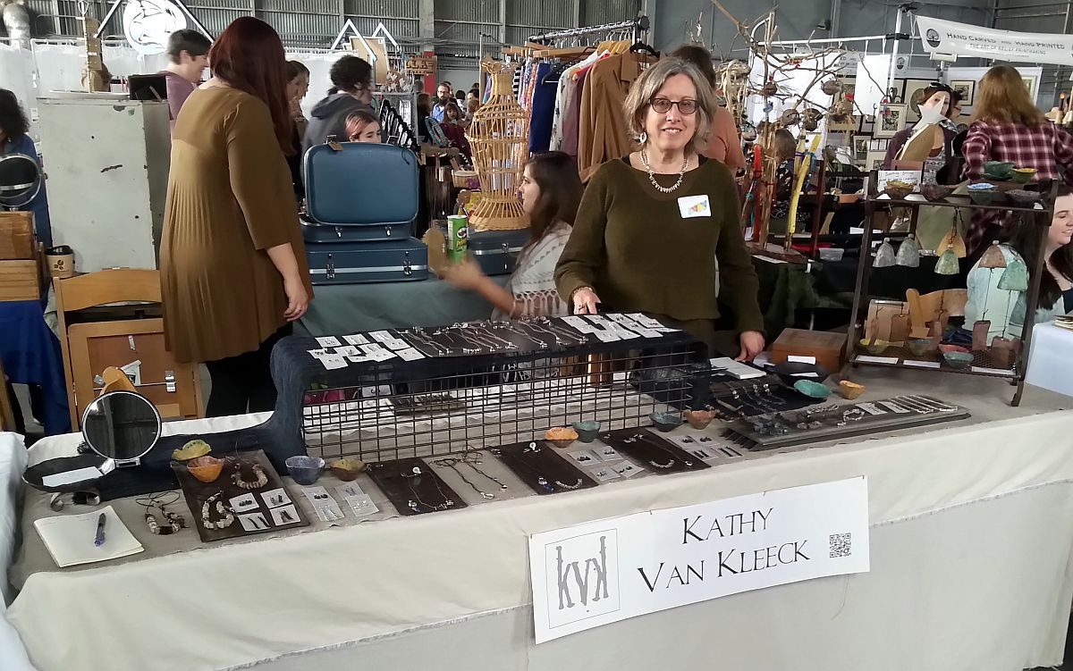 KVK at GLAM Craft Show in GVL