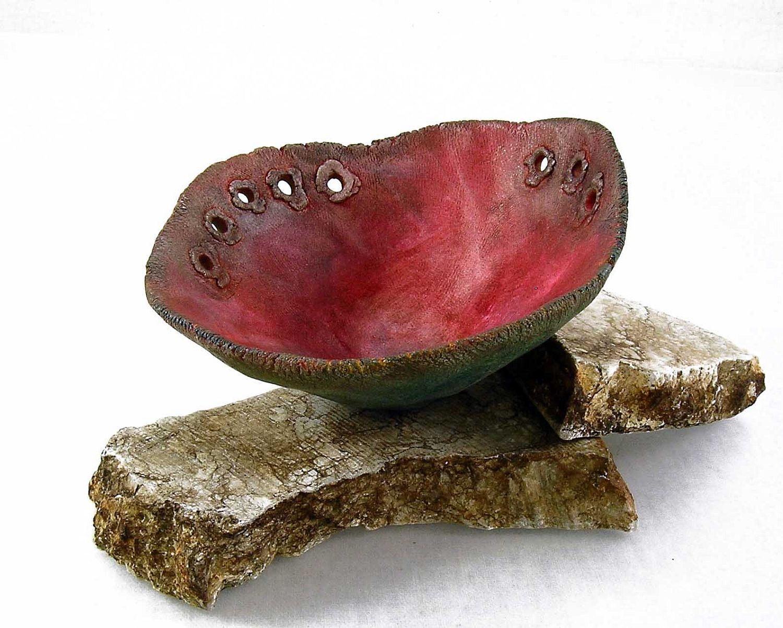 bloodstone pinch pot