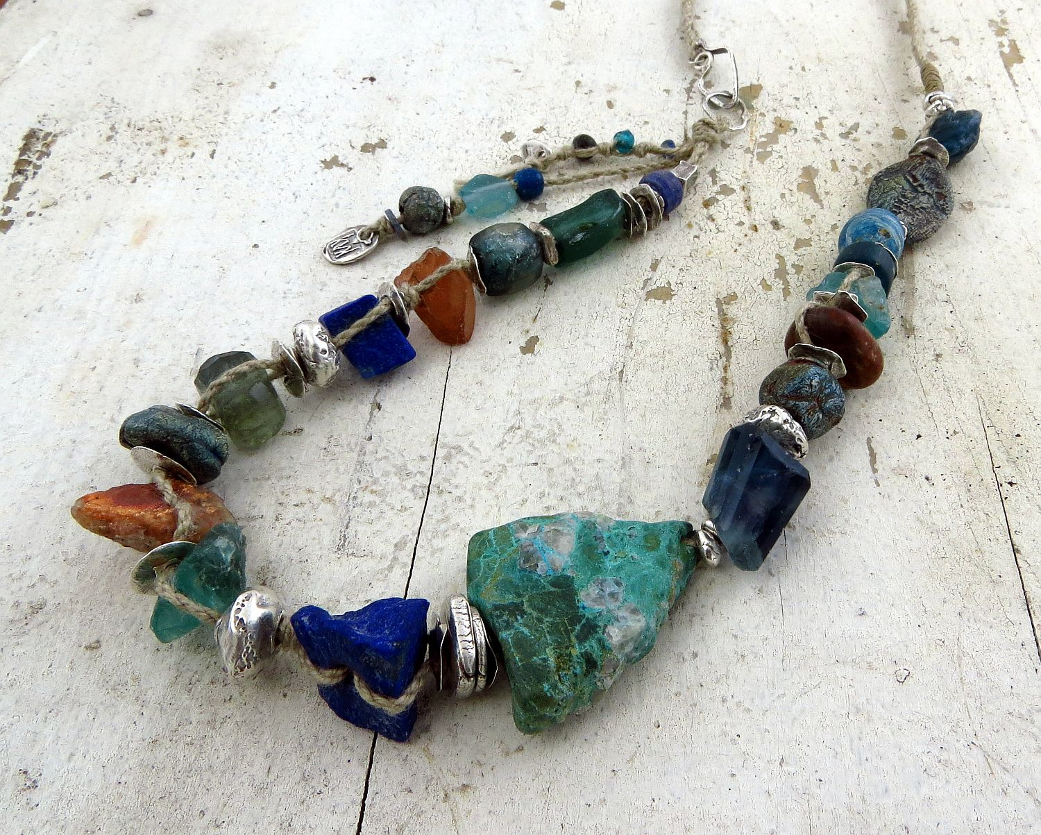 GAIA ... reminds me of a shaman's hoard ... rustic and lush!