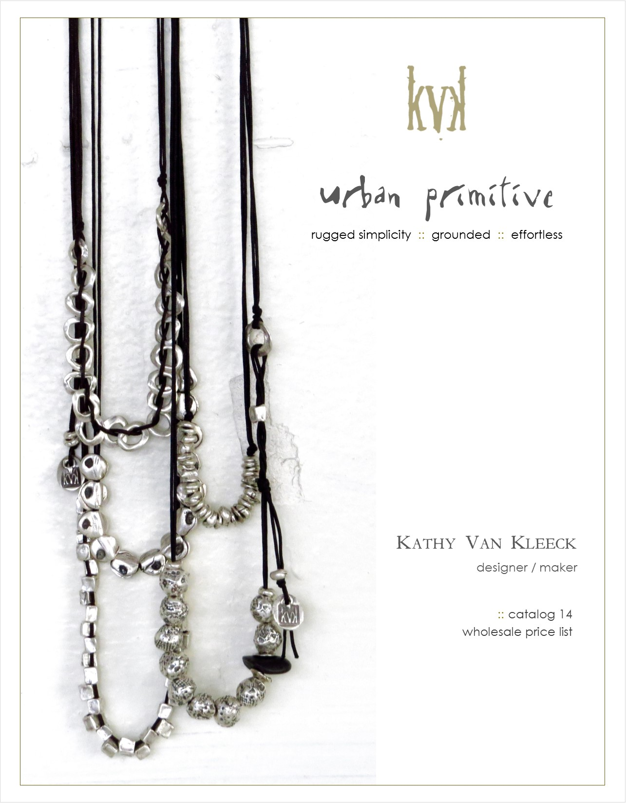 catalog 14 cover kathy van kleeck