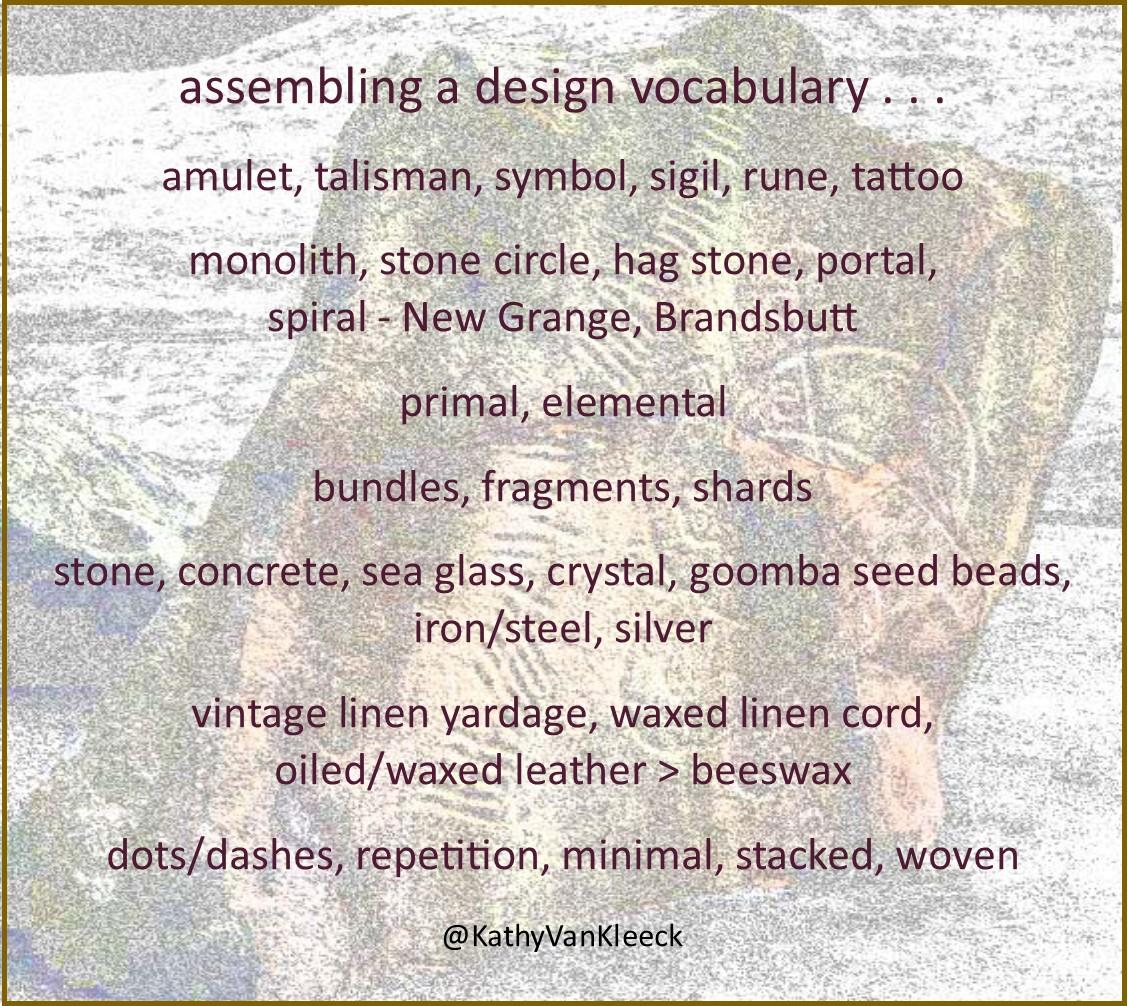 assembling a design vocabulary kathy van kleeck