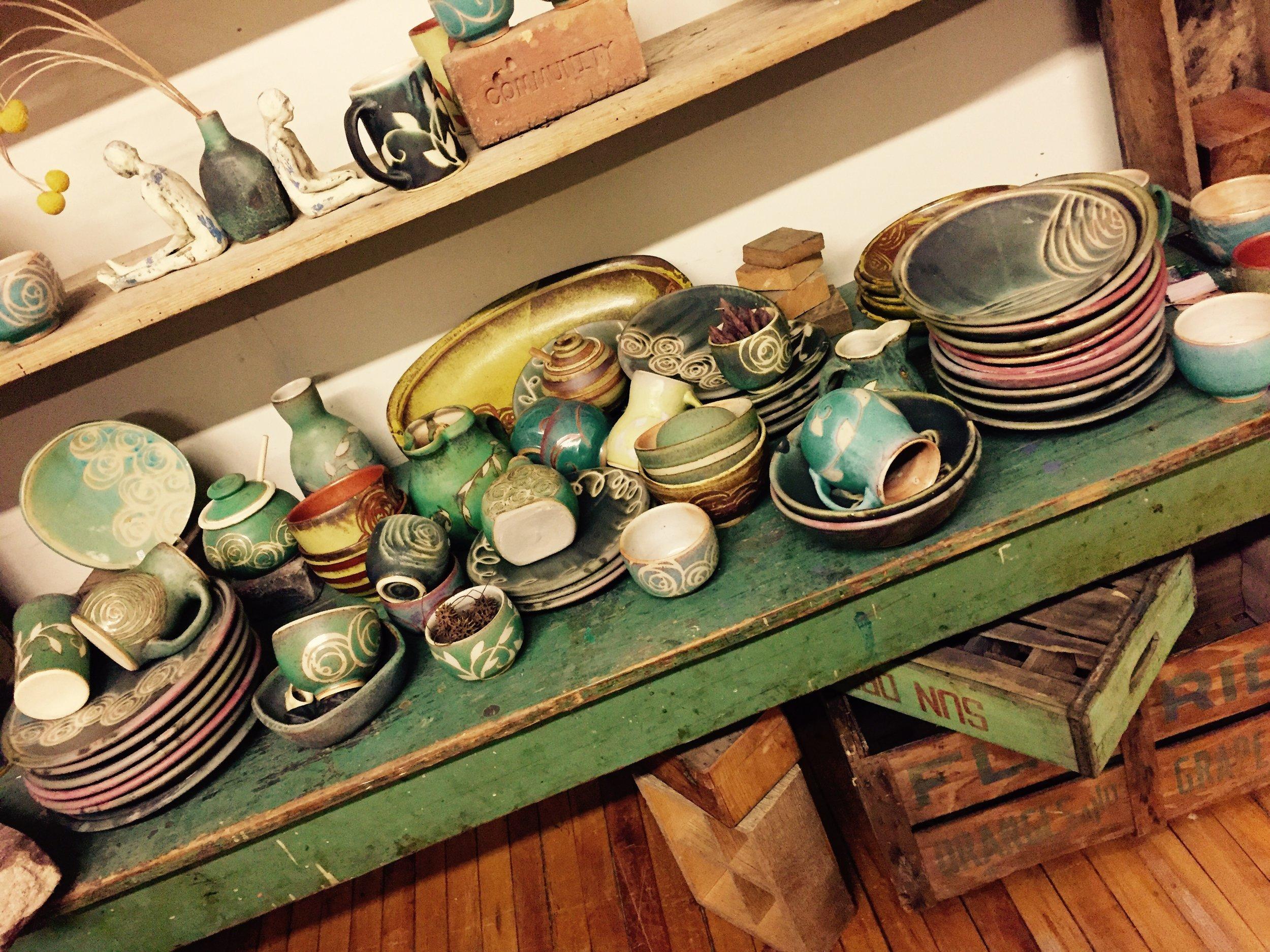 Julie Covington Pottery