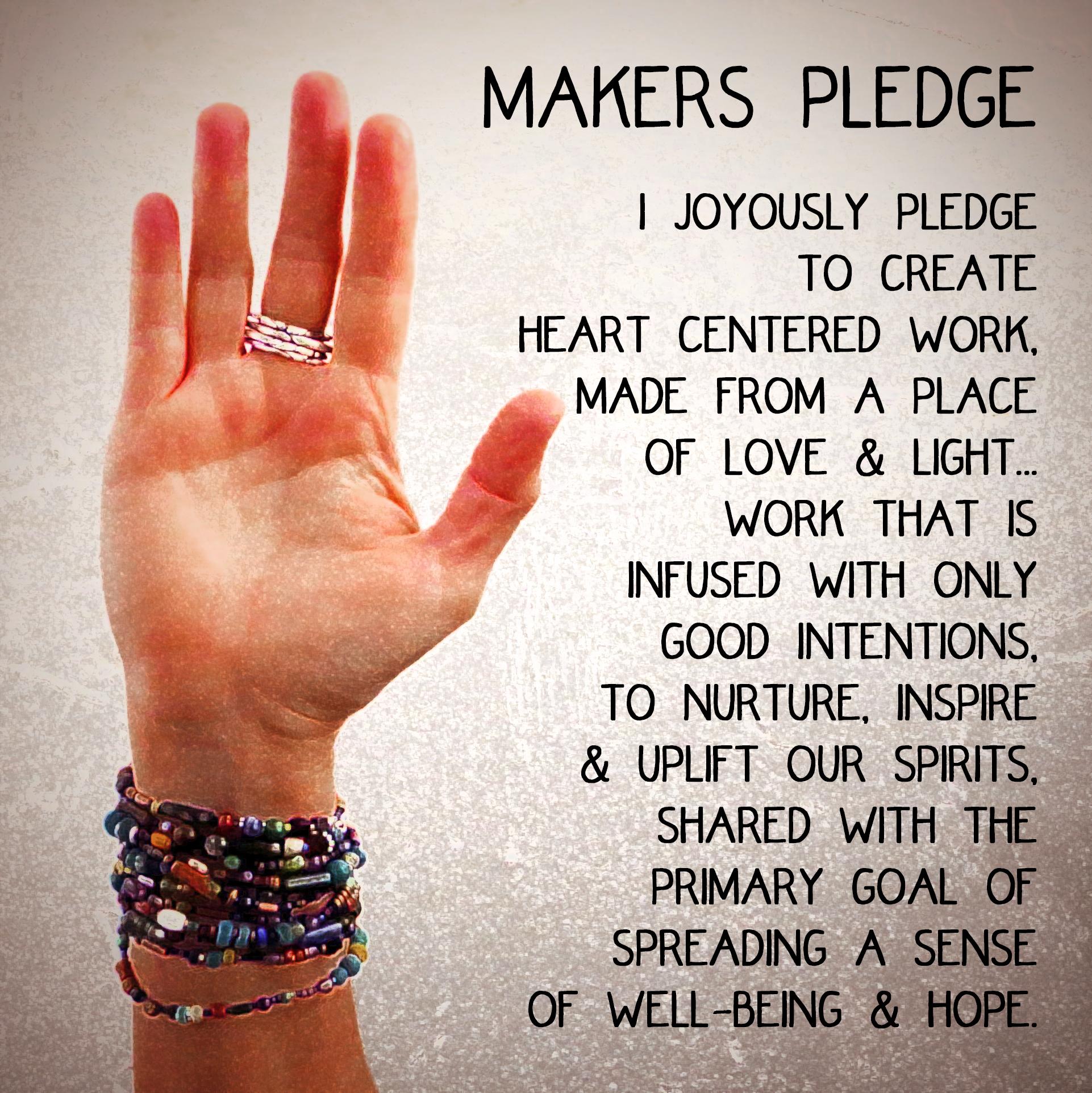 makers pledge