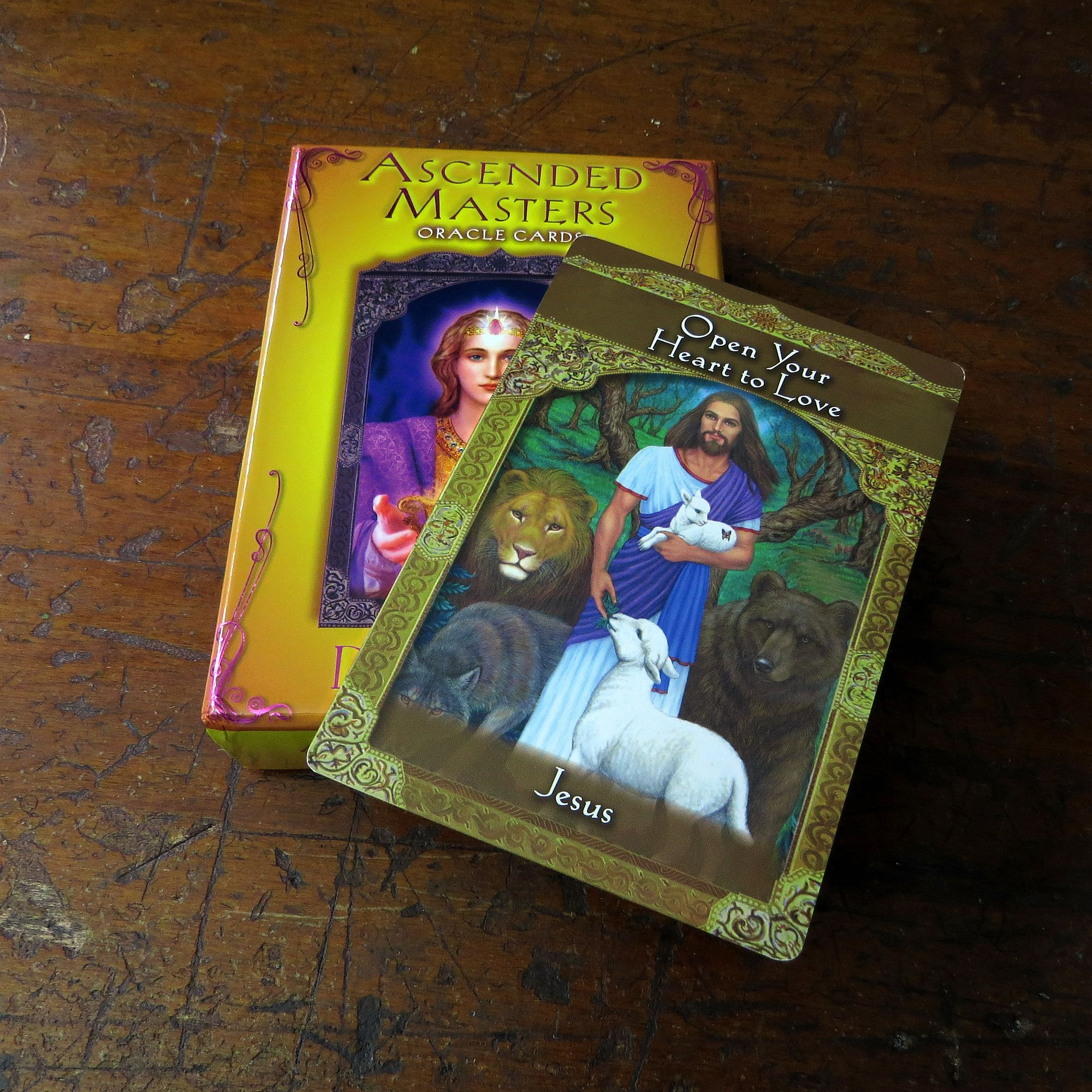 Ascended Master Oracle Cards, Jesus