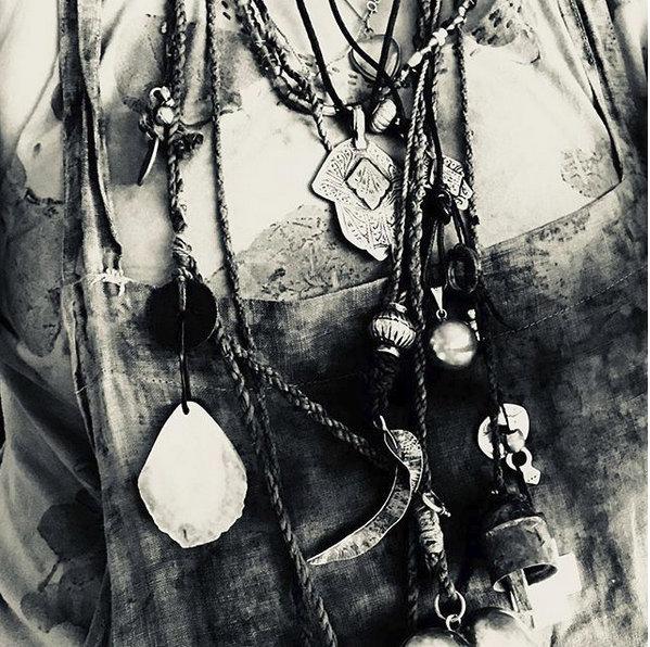 India Flint's jewelry hoard, via her IGM feed ... dreamy