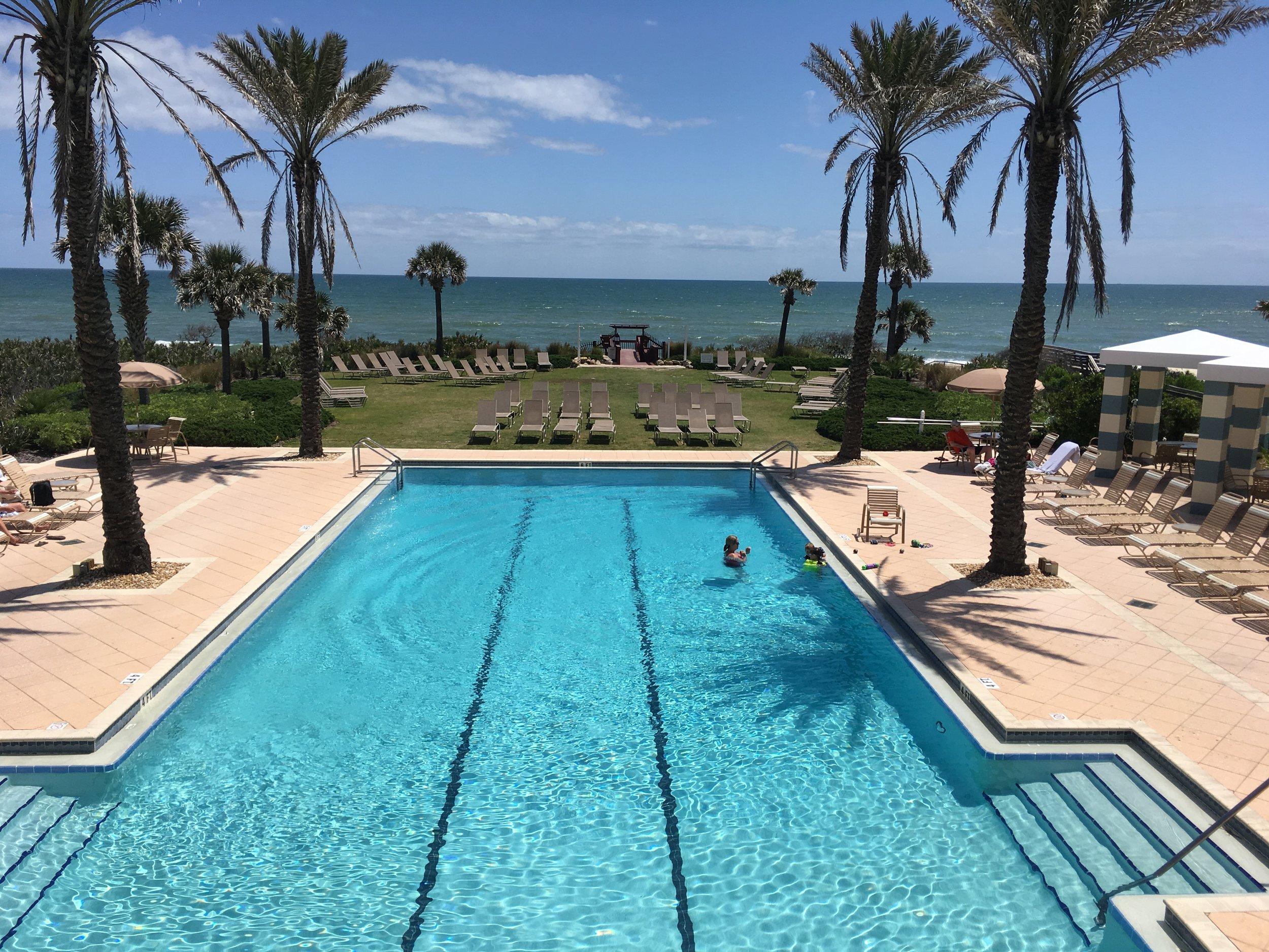the oceanside pool