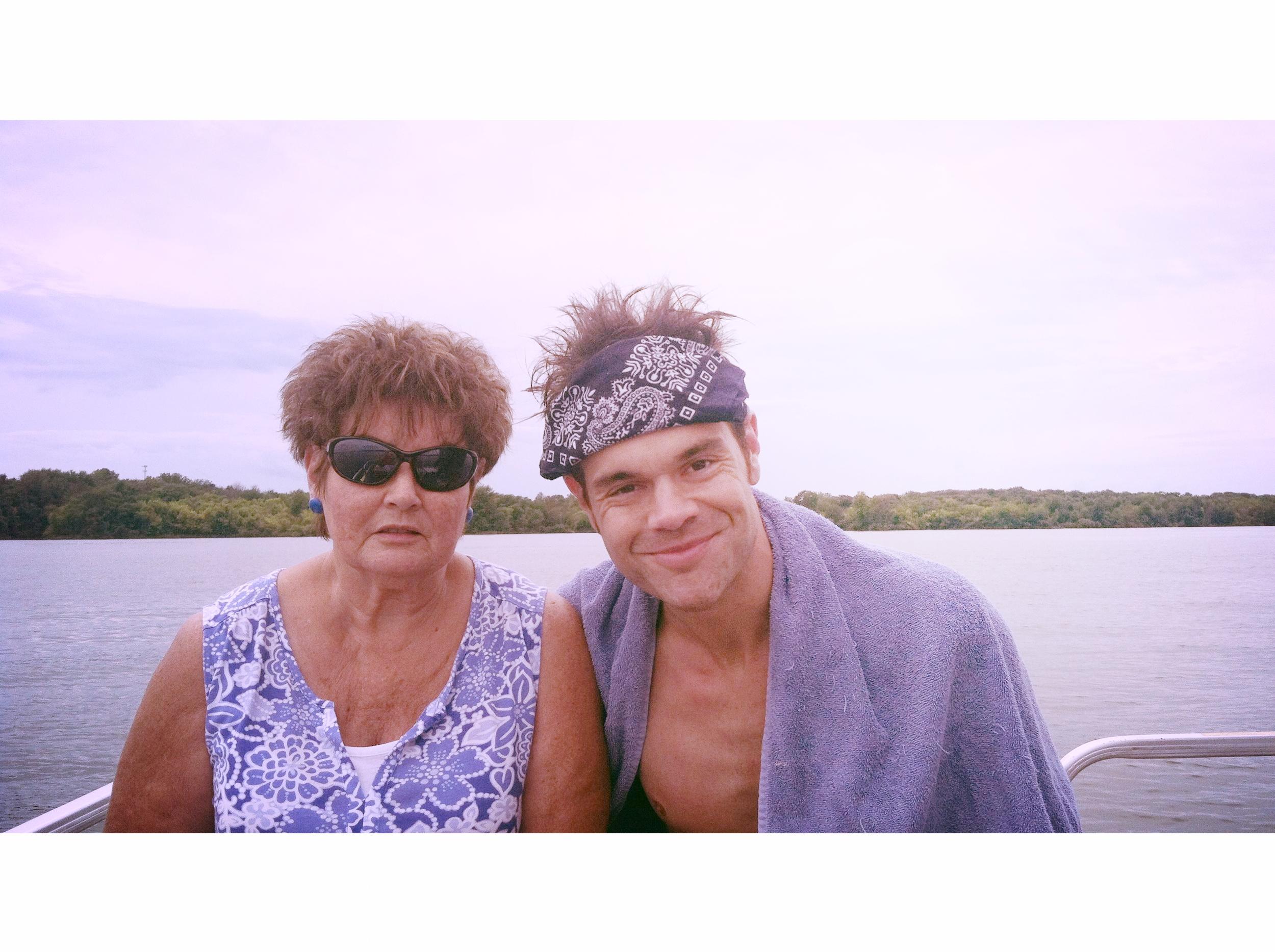 Mom and I circa 2014