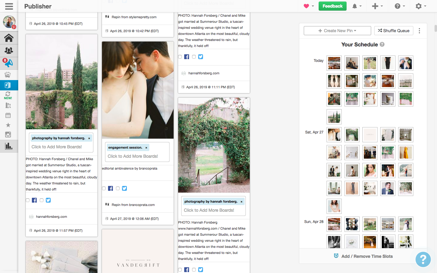 Pinterest Strategy for Wedding Photographers and Creatives | Hannah Forsberg 2