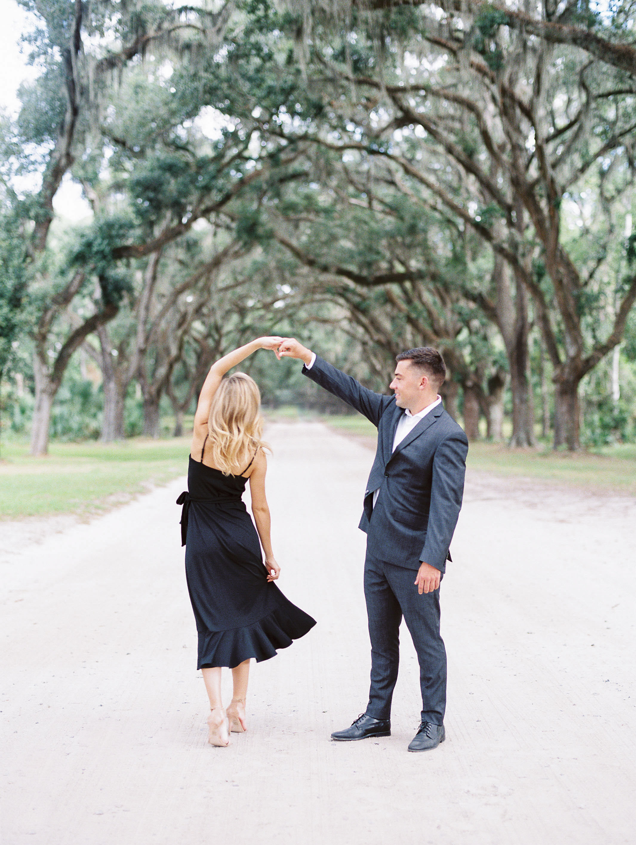 Wormsloe Engagement -