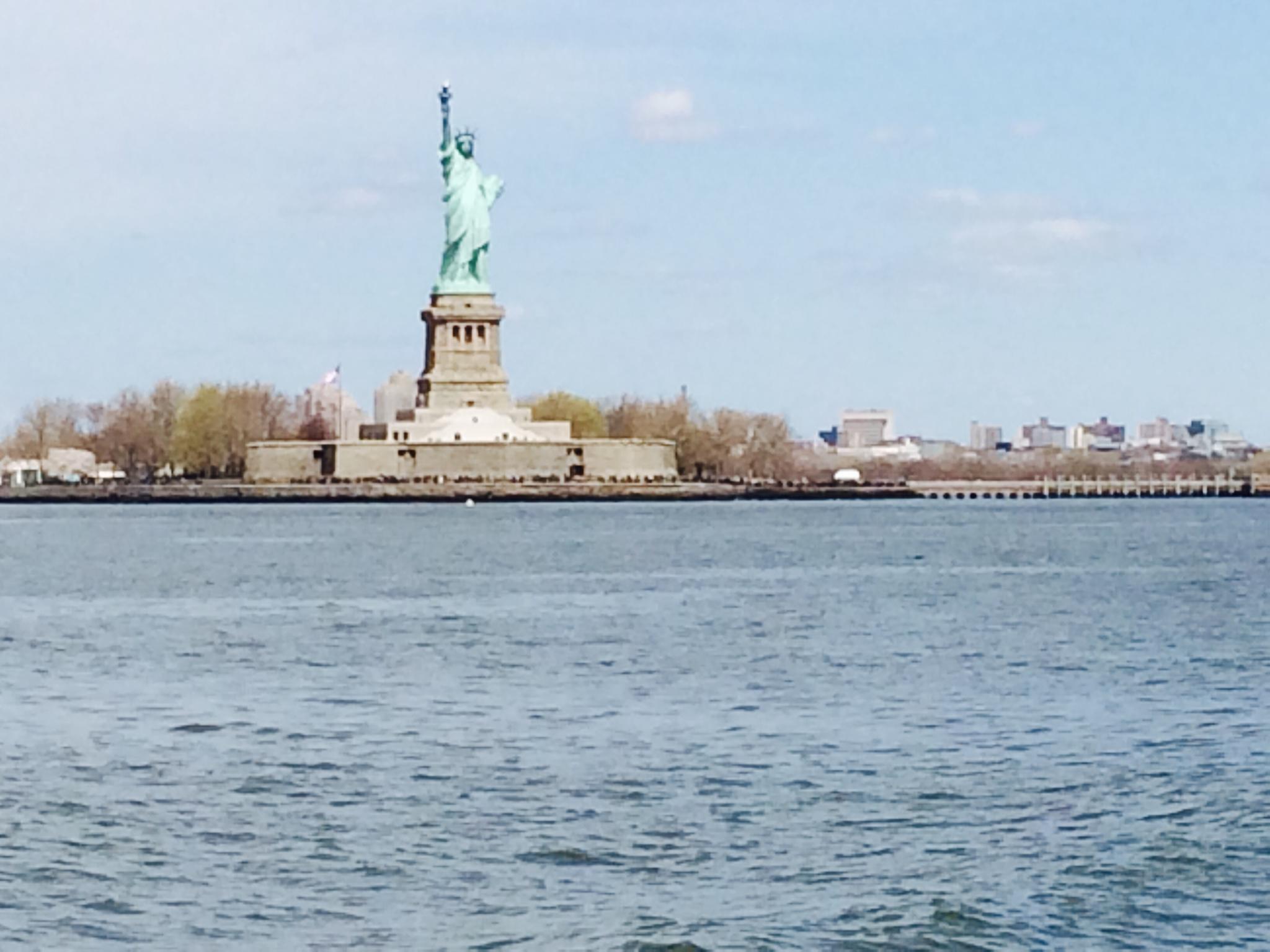 The Statute of Liberty!