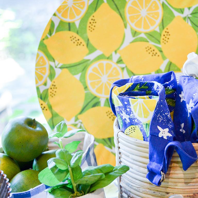Lemon Melamine Platter: $28
