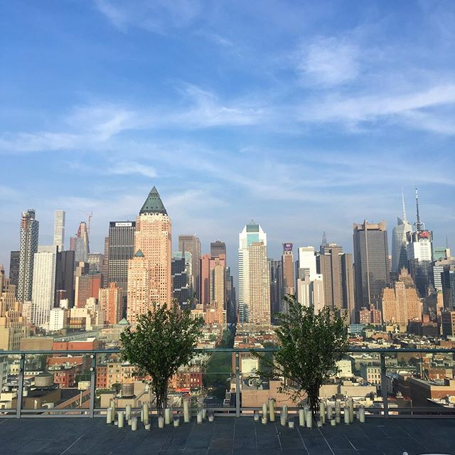 #rooftop #gig #NYC #summer #newyork #cityscape #inkhotel #skyline