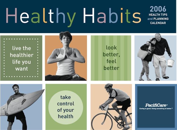Healthy Habits Calendar