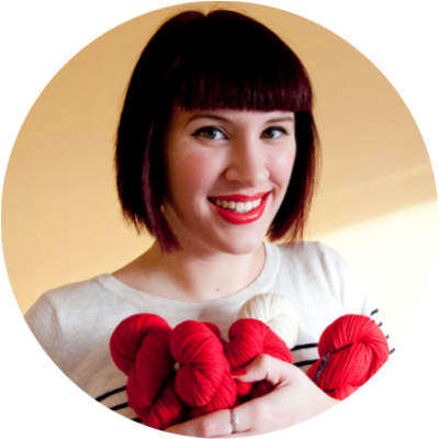 Andi Satterlund: Self-Employed Writer/Knitting Pattern Designer