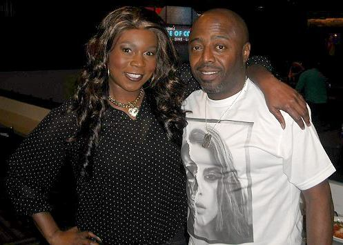 Donnell Rawlings and I performed at House Of Comedy AZ