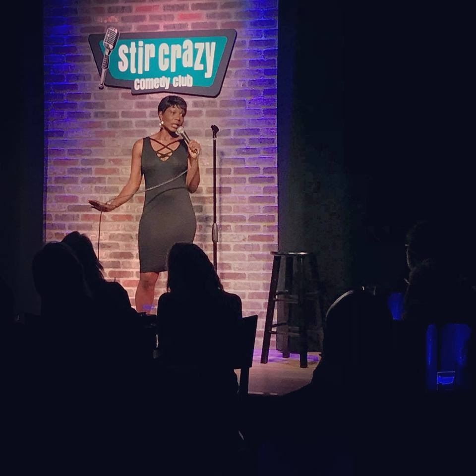 Diva is talking about her apt. at House of Comedy