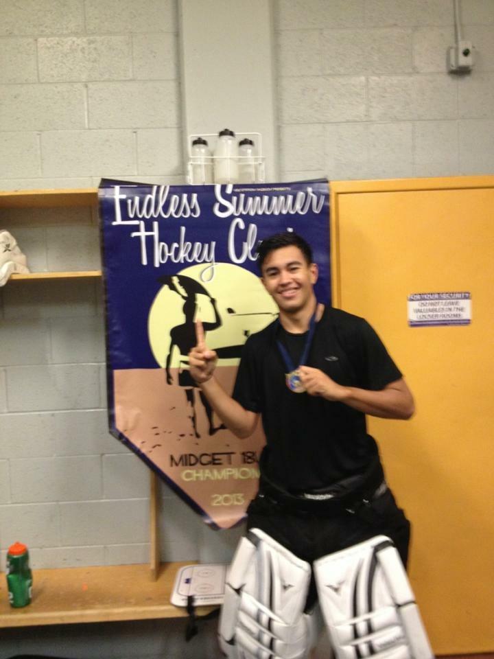 Orca winning the Endless Summer Hockey Classic