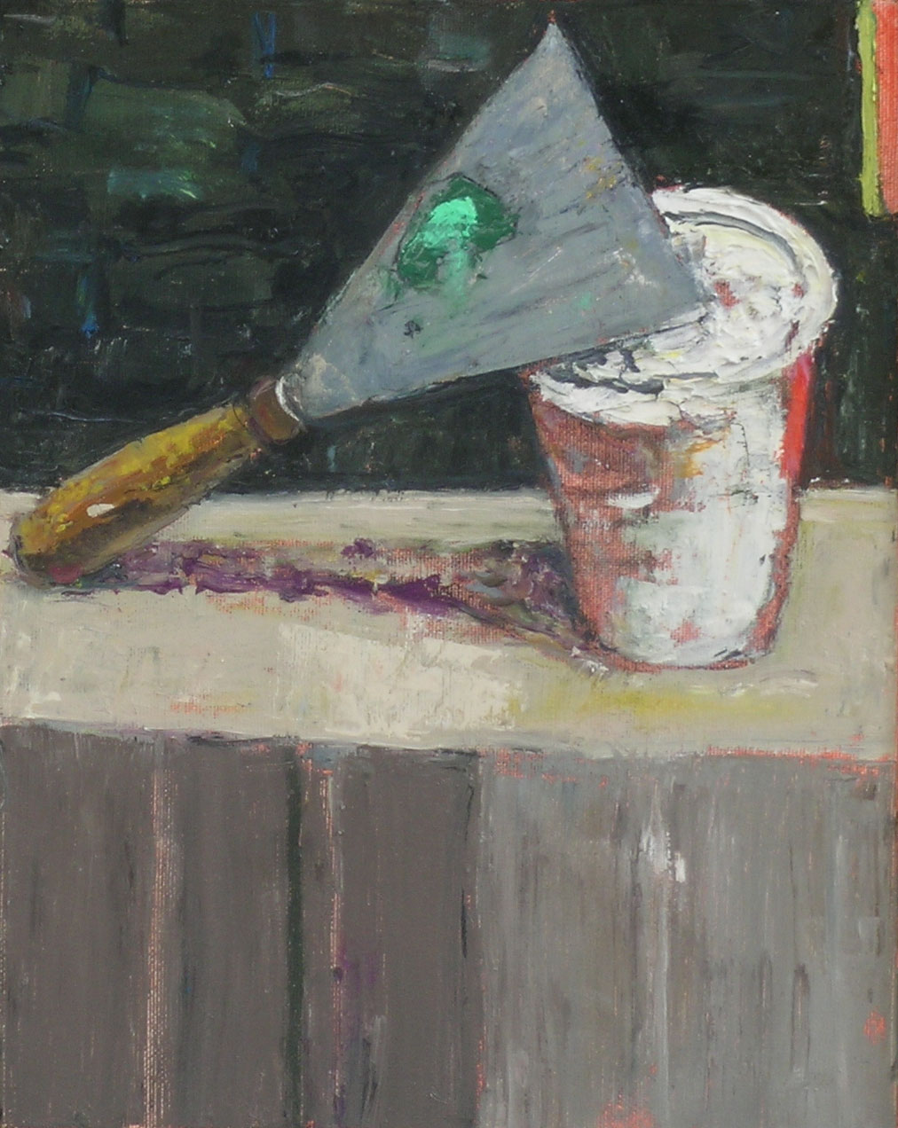 Paint, 2005 oil on canvas, 10 x 8 inches