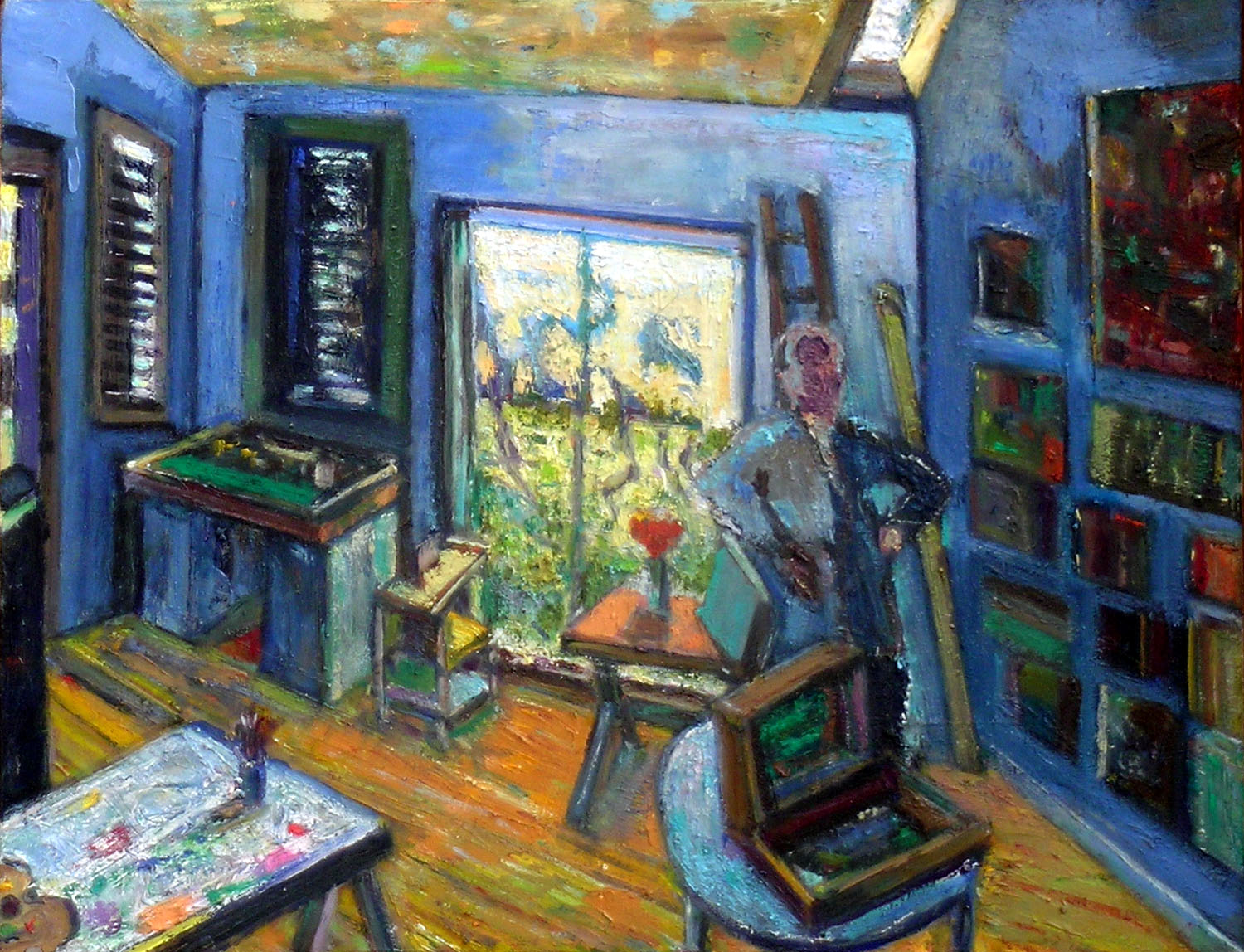 September Studio, 2005 oil on canvas, 14 x 18 inches