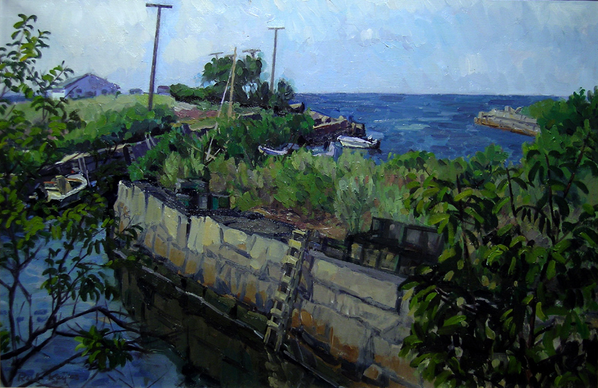 Bay View, 2003 oil on canvas, 20 x 30 inches