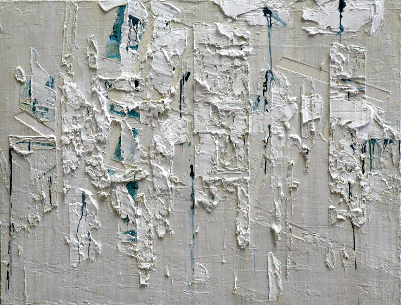 Untitled, 2010 oil and cold wax on canvas, 42 x 55 inches