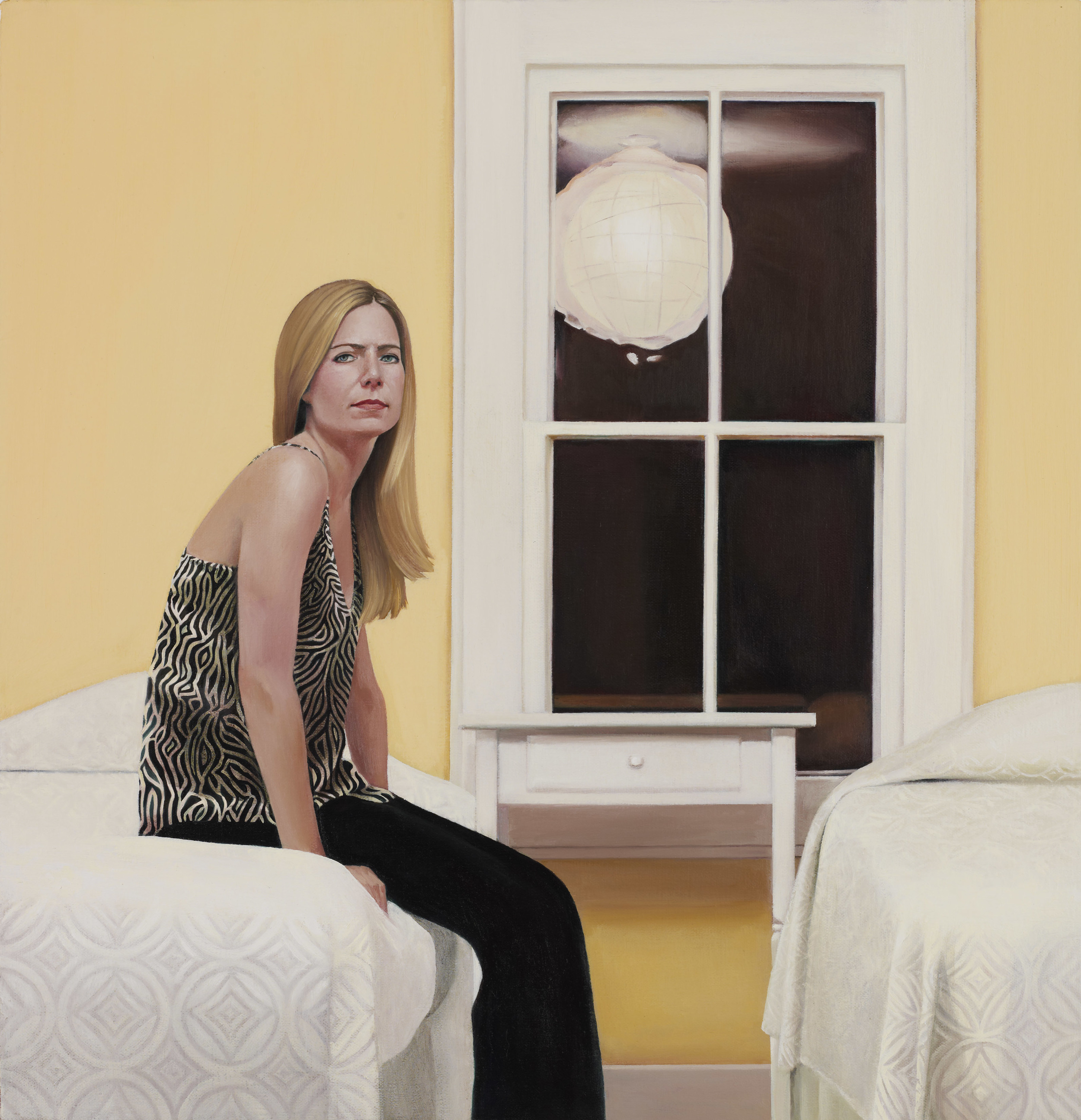 The Yellow Room, 2012 oil on canvas, 19 x 18 inches