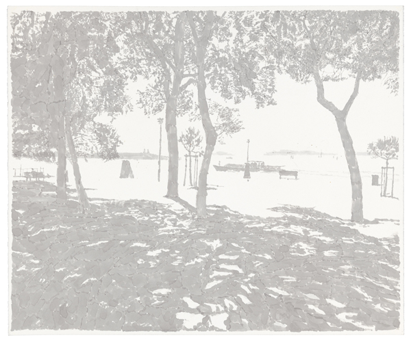 Venice 6,  2012 ink was on paper, 11 x 15 inches
