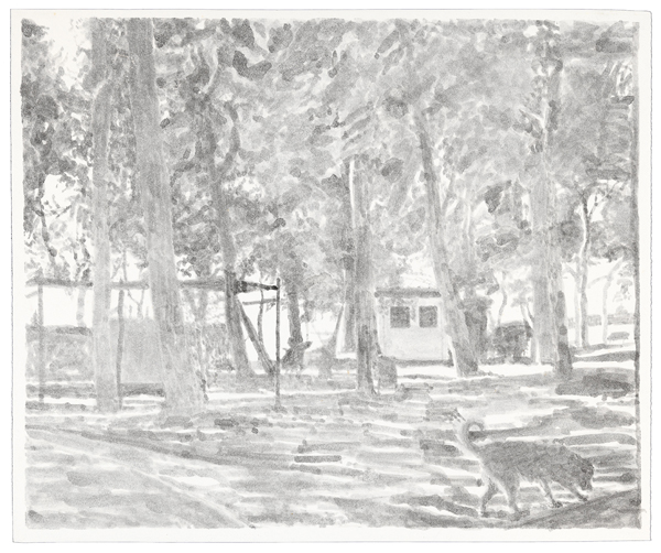 Venice 8, 2012 ink was on paper, 11 x 15 inches