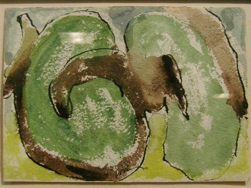 Arthur Dove   Summer Orchard , 1937 watercolor on paper, 5 x 7 inches