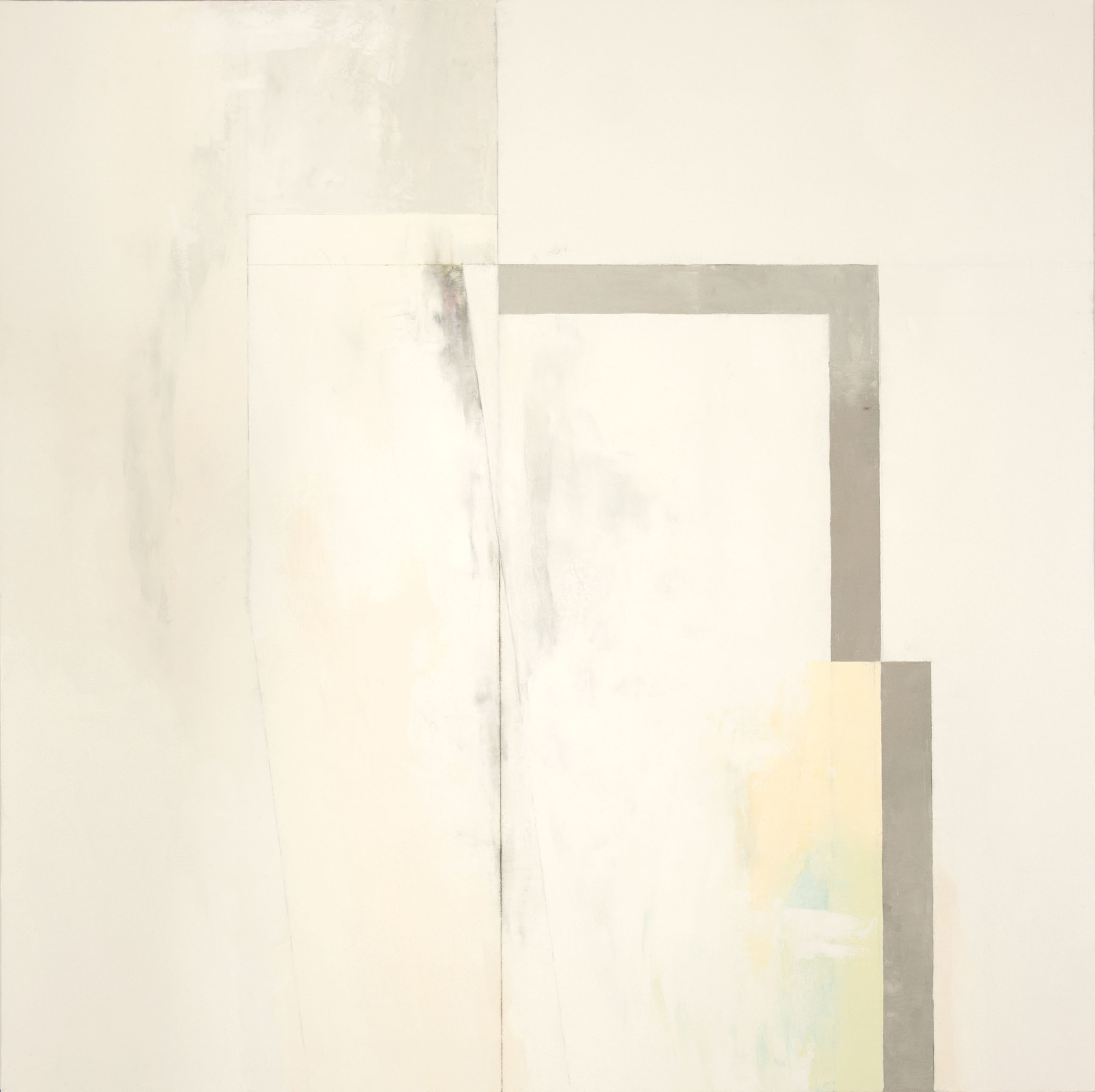 White No. 3  , 2014 oil on canvas, 66 x 66inches