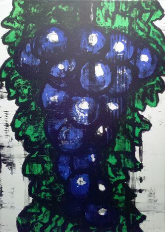 Grapes on Vine,  1994 lithograph