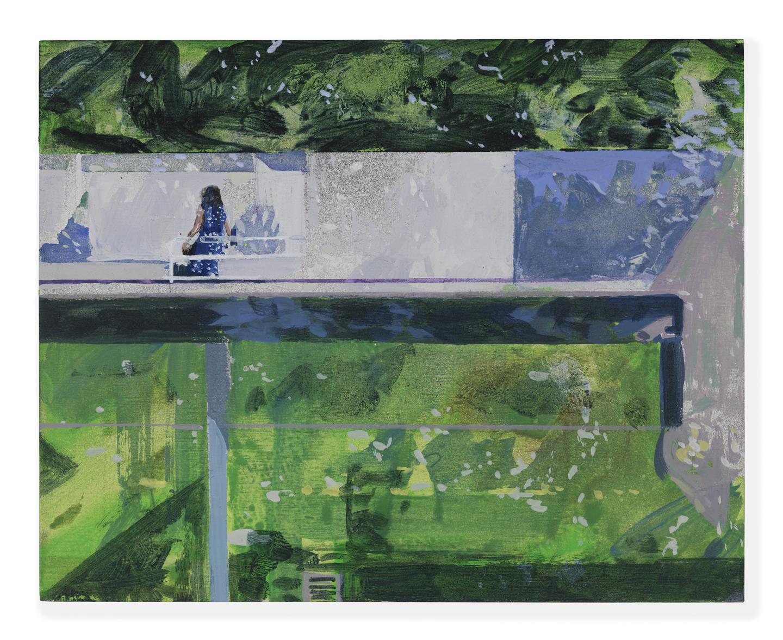 Wander , 2016 acrylic on panel, 8 x 10 inches