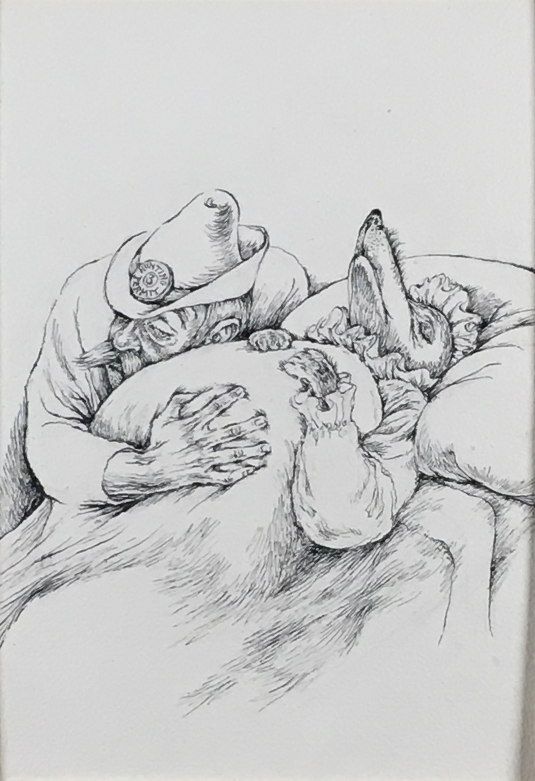 Red Riding Hood , 1970-71 ink on paper, 16 x 11 inches