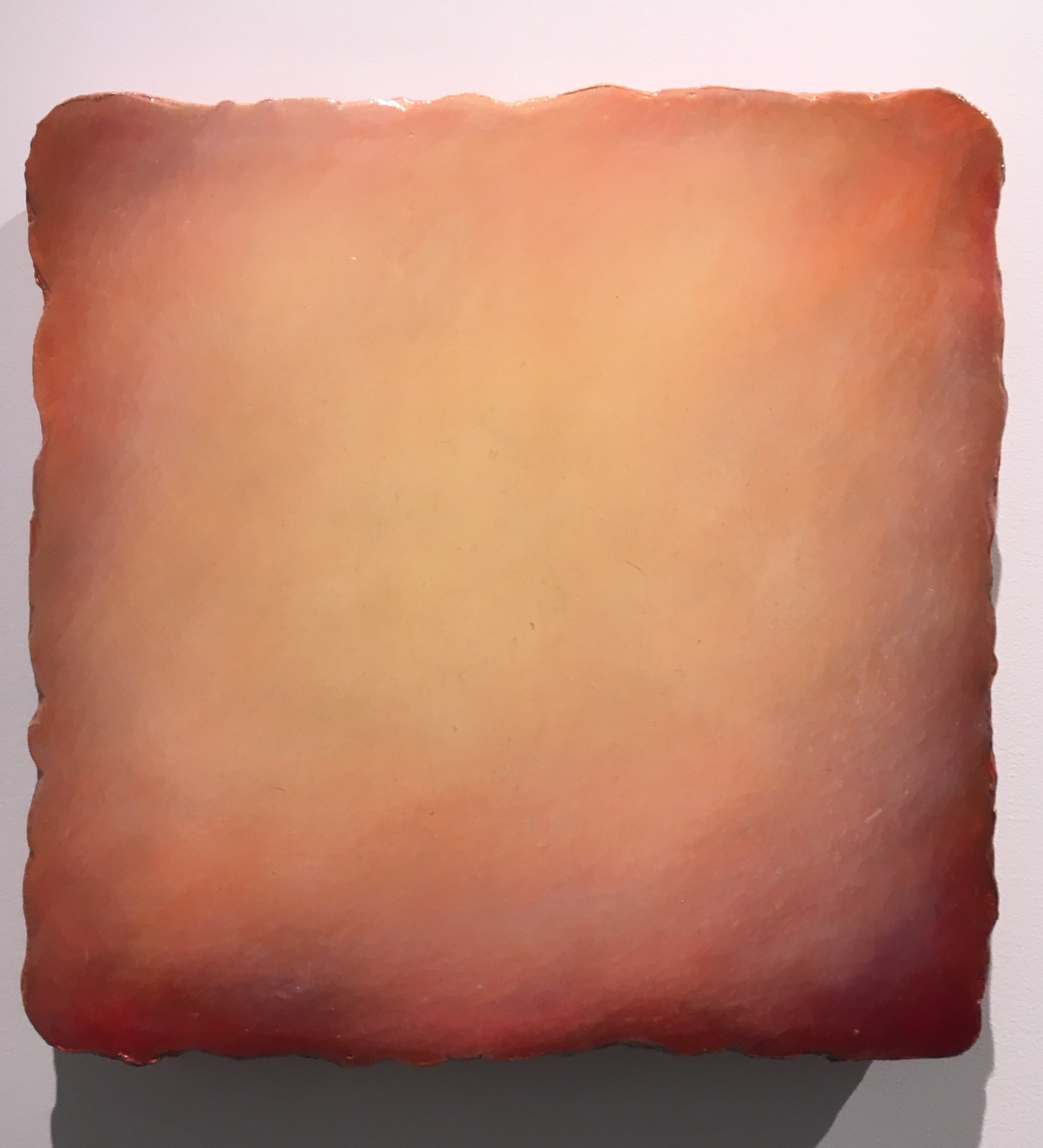 untitled #2817, 2015 oil & gesso on canvas, 13 x 13 inches