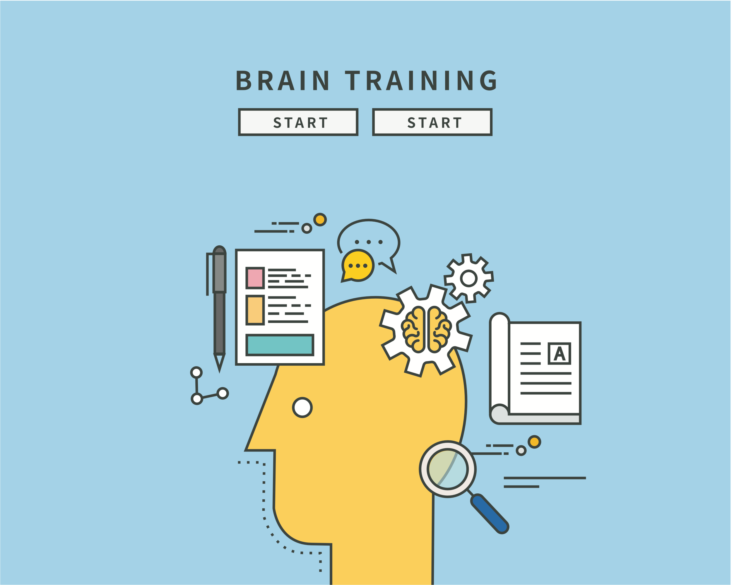 Brain training games may not help with cognition problems